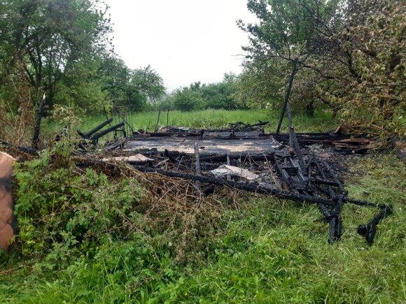 Sulaikytas Kėdainiuose siautėjęs padegėjas: vyras, įtariama, sukėlė 10 gaisrų