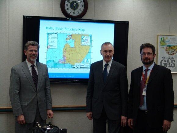 A.Sekmokas Vašingtone aptarė skalūninių dujų išteklius Lietuvoje