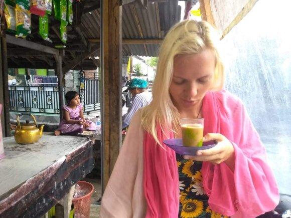 Egzotiškoje šalyje studijuojanti lietuvė papasakojo apie iššūkių kupiną pusmetį Indonezijoje