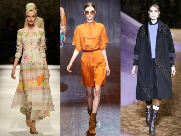 """Manekenė Morta Kontrimaitė mados namų """"Missoni"""", """"Gucci"""" ir """"Prada"""" pristatymuose"""