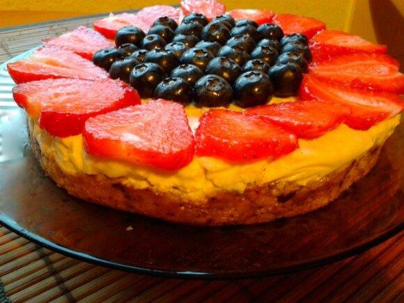 Žaliavalgiškas tortas