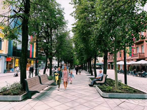 Kaunas in Cinema: beauty of people, nature and architecture