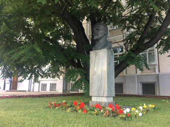 Памятник Владимиру Ленину в Витебске