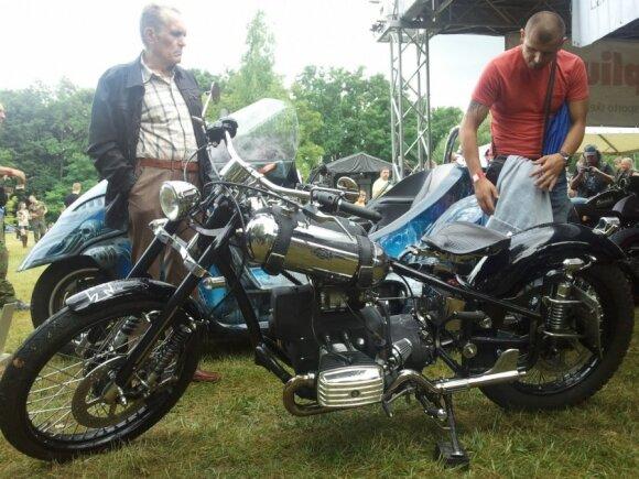 Best Freestyle nugalėtojas - motociklas Harley Davidson Sportster