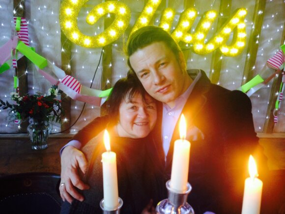 Dalia Ibelhauptaitė ir Jamie Oliveris
