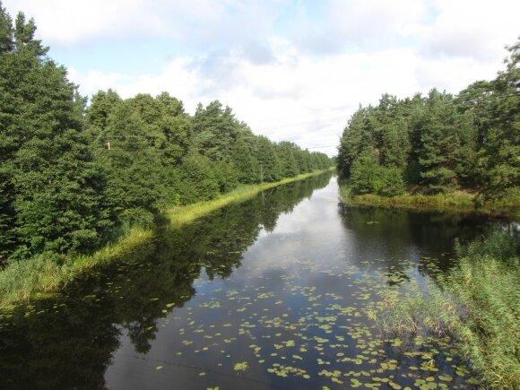 Idėja, ką aplankyti Lietuvoje: laivų išsiilgęs karaliaus Vilhelmo kanalas