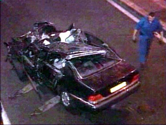 Automobilis, kuriuo važiavo princesė Diana