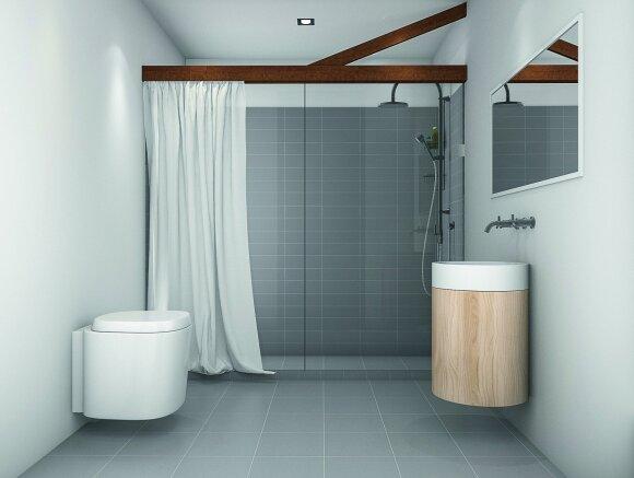 Praktiški sprendimai: dušo įrengimo idėjos