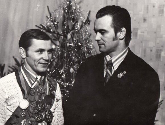 Garis Nikolajonokas (dešinėje) ir Vladimiras Zubkovas