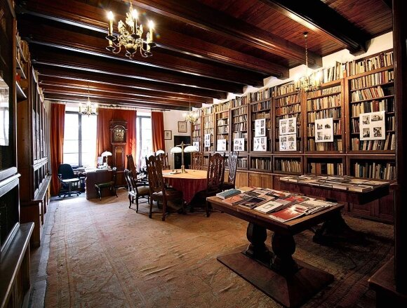 Jano Białostocki'io bibliotekos interjeras
