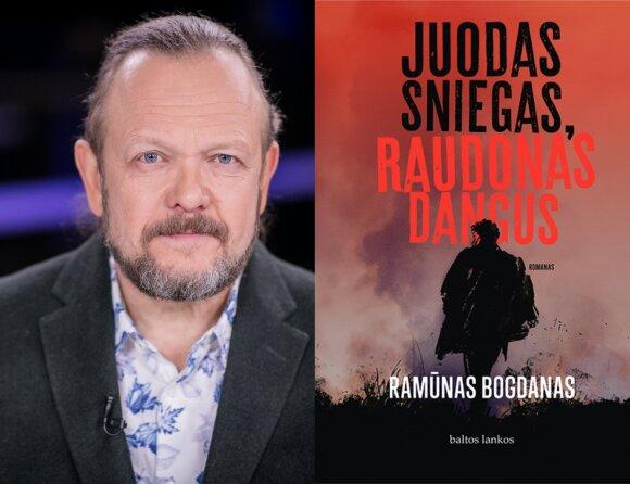 """Ramūnas Bogdanas,  """"Juodas sniegas, raudonas dangus"""""""
