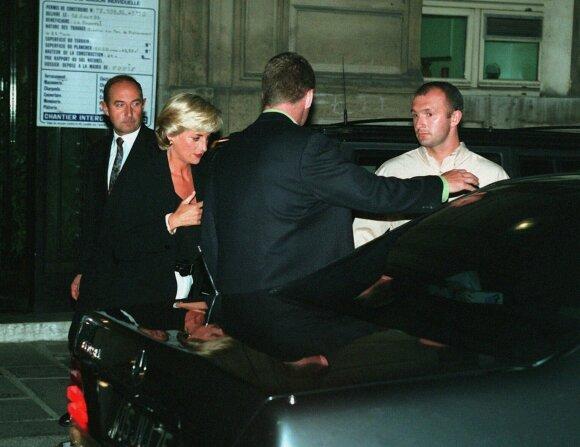 Princesė Diana ir Trevoras Reesas-Jonesas