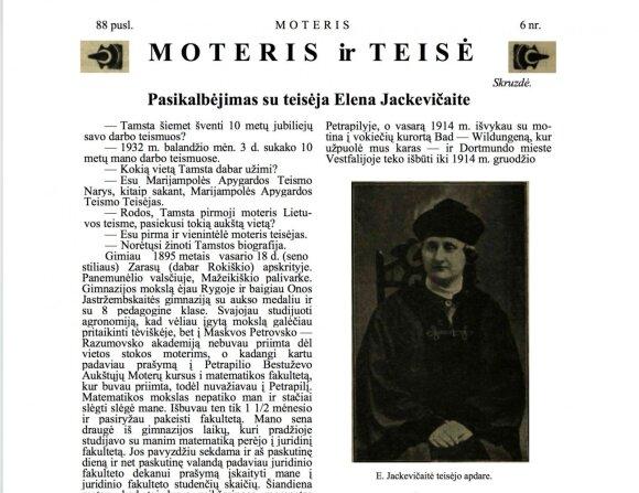 Elena Jackevičaitė