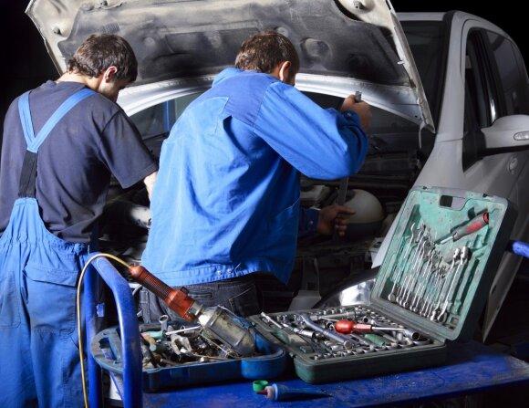 Automobilio remontą vilnietis atsimins ilgai: teko pakloti krūvą pinigų, bet dar daugiau – nervų