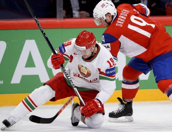 Dmitrijus Meleška (kairėje)