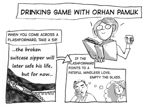 Fakin' Zeitgeist: Drinking game with Orhan Pamuk