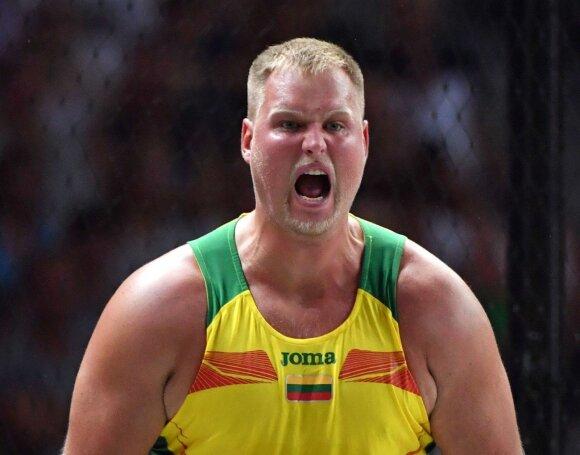 Paskutinis metimas – auksinis: Gudžius išplėšė Europos čempionato aukso medalį!