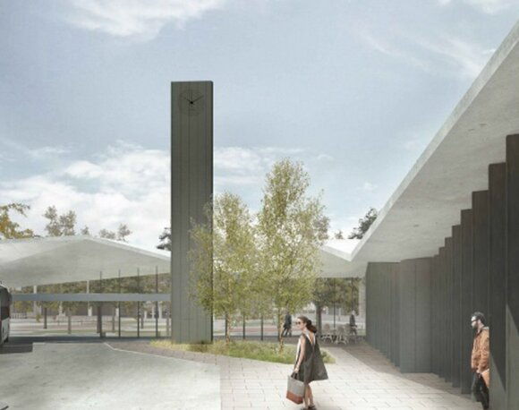 Būsimos Panevėžio autobusų stoties vizija keičiasi: svarbiai detalei numatė kitą vietą