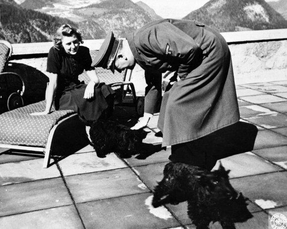Eva Braun su Hitleriu
