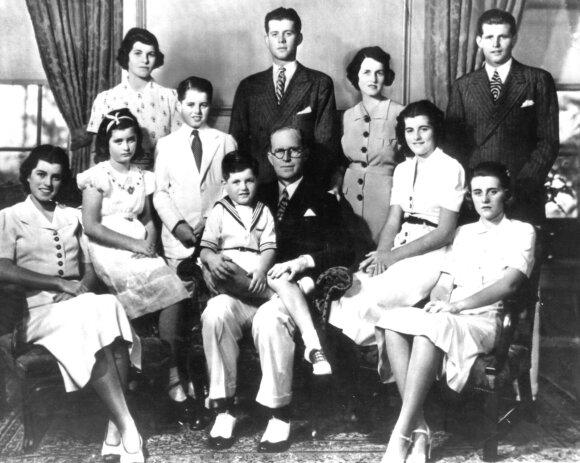 Kennedy šeima 1938 metais