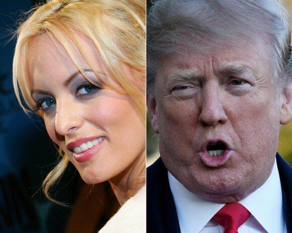 Stormy Daniels, Donaldas Trumpas