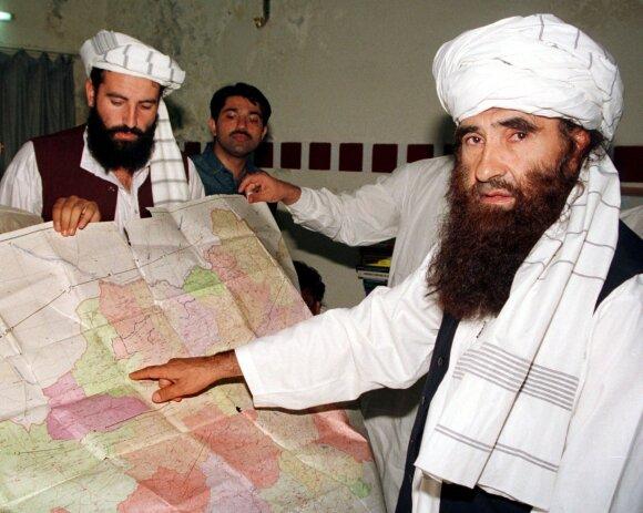 Jalaluddinas Haqqani, Talibano genčių reikalų ministras
