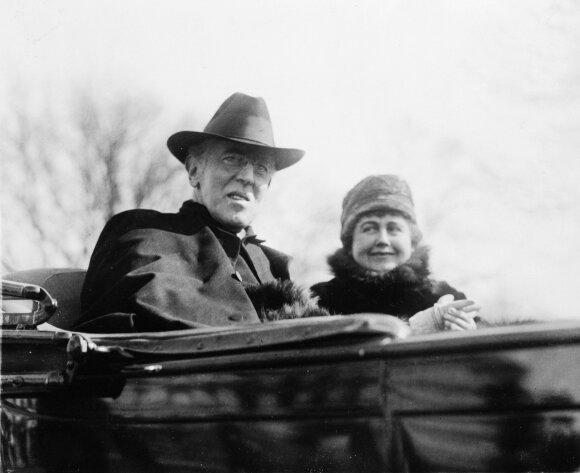 Edith Bolling Galt ir  Woodrow Wilson
