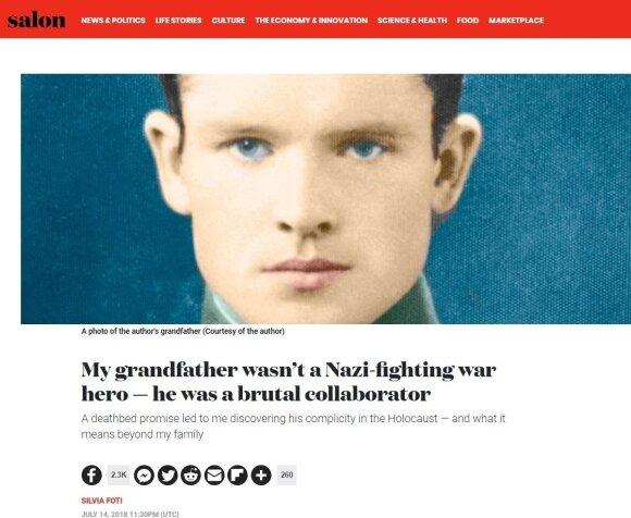Generolo Vėtros anūkė metė baisius kaltinimus seneliui ir Lietuvai: kas slepia tiesą?