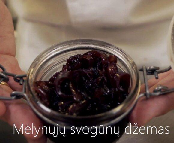 Itin lengvai pagaminamas svogūnų džemas – ypatingas šefo pagardas