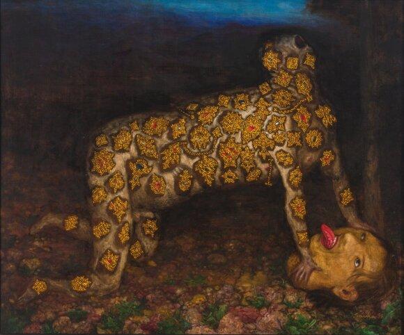 """Šarūnas Sauka. Keturpėsčias, 1998. """"Lewben Art Foundation"""" kolekcijos kurinys aukcionui"""