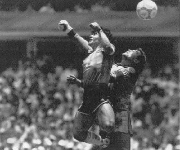 Diego Maradona 1986 m. pasaulio futbolo čempionate