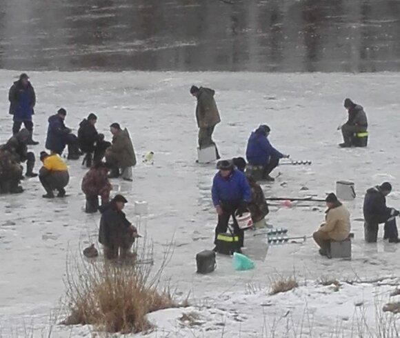 Žvejai Jonavoje