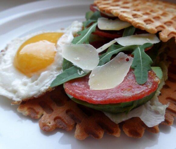 SAVAITGALIO pusryčių salotos