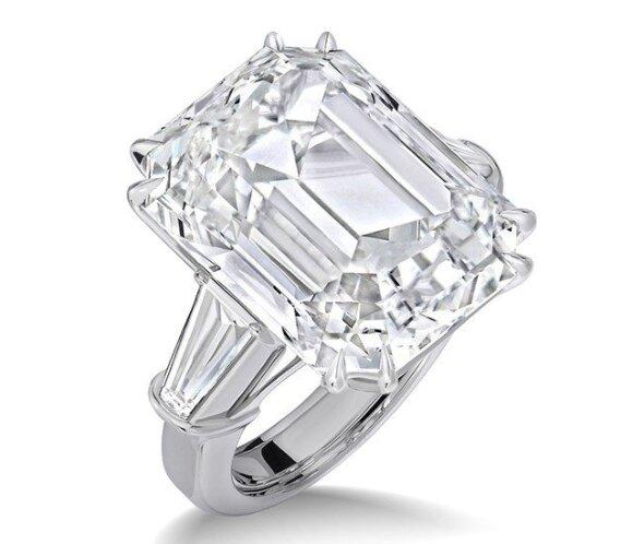 Mariah Carey sužadėtuvių žiedas