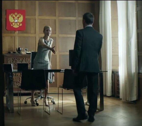 Дапкунайте сыграла посла России в сериале об оккупации Норвегии