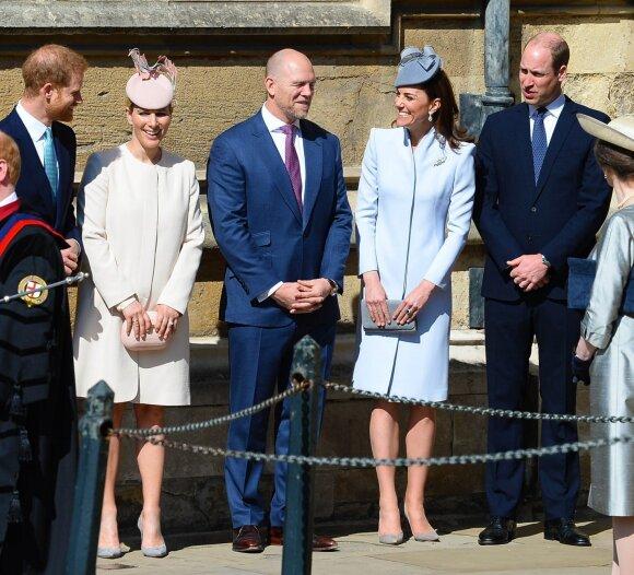 Princai Williamas ir Harry laikėsi atstumo