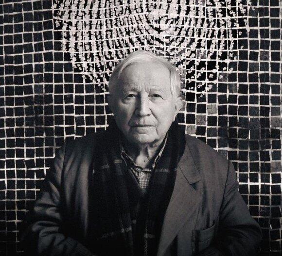 """Tadeuszas Różewiczius. Knygos """"Nauka chodzenia"""" (""""Mokymas vaikščioti"""", leidykla """"Biuro Literackie"""", 2007) viršelio fragmentas"""