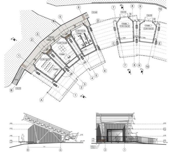 Projektuojamas lankytojų centras