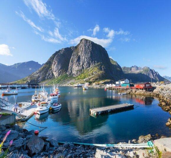 Šiaurės Norvegija: čia gyvena Troliai
