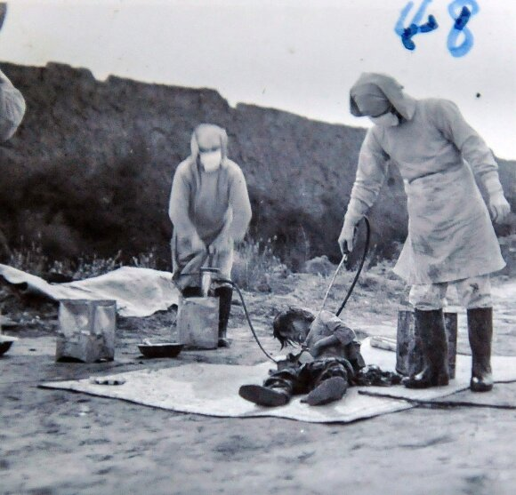 Kalinys Pingfango stovykloje