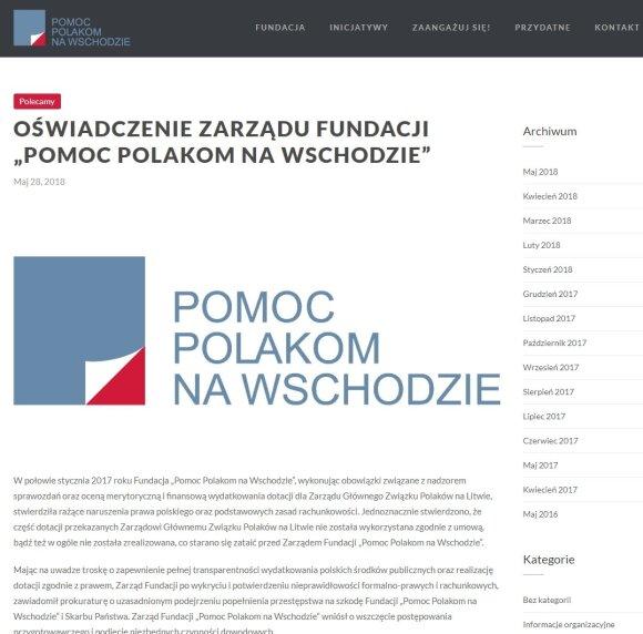 Rimti Lenkijos įtarimai Lietuvos politikui: su mokesčių mokėtojų pinigais elgėsi kaip su savais