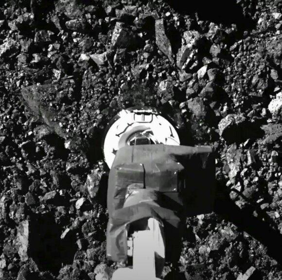 Asteroidas Bennu.