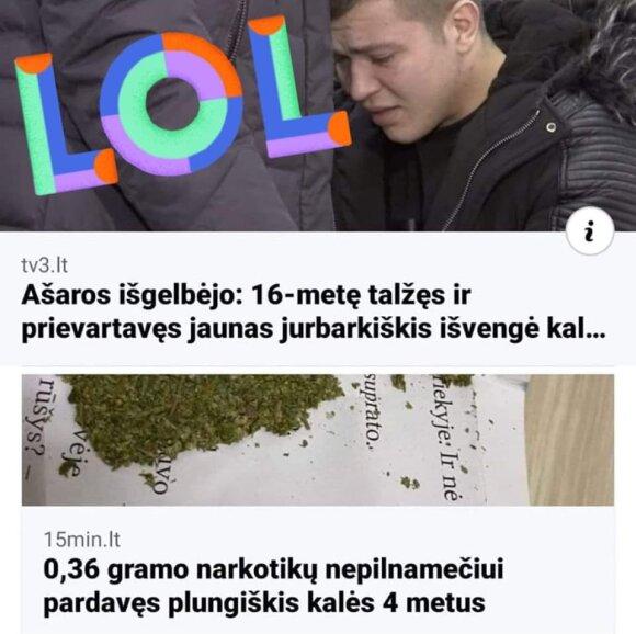 Internete plintantis palyginimas sukėlė klausimų: ar tikrai bausmės Lietuvoje adekvačios?