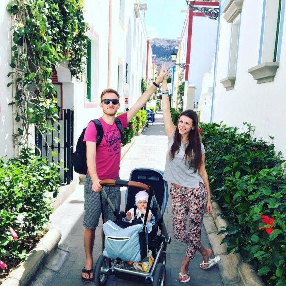 Žinomos mamos keliauja su vaikais: sunkumus atperka džiaugsmas
