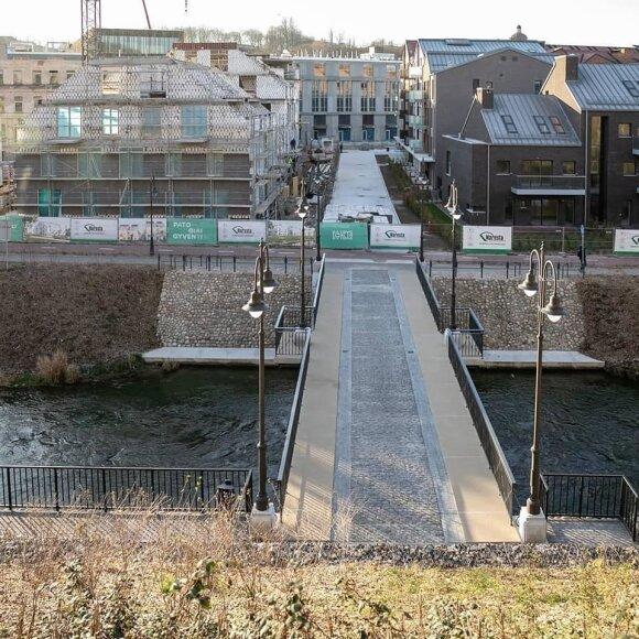 Vilniuje – naujas pėsčiųjų tiltas