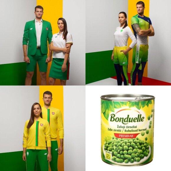 Lietuvos olimpiečių apranga