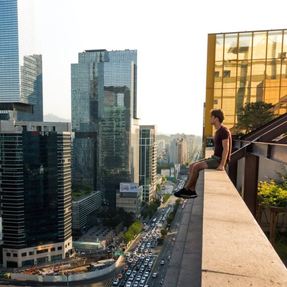 Jokūbas Laukaitis Pietų Korėjoje