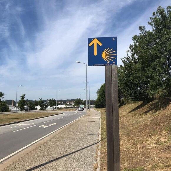 """Боль тебя не определяет"": cтудентка из Вильнюса преодолела 270 километров пешком по Португалии и Испании"