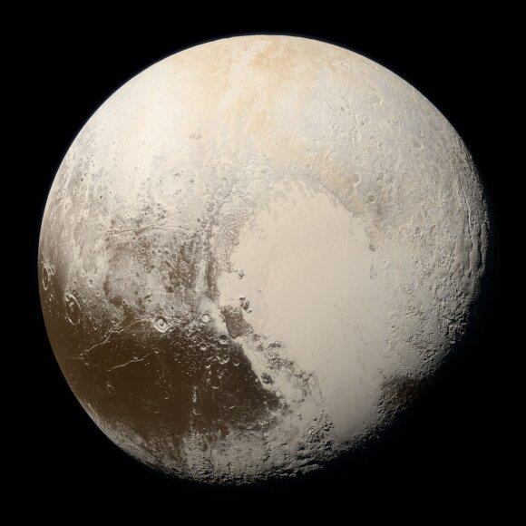 Plutonas. NASA/ESA/Hubble/New Horizons nuotr.