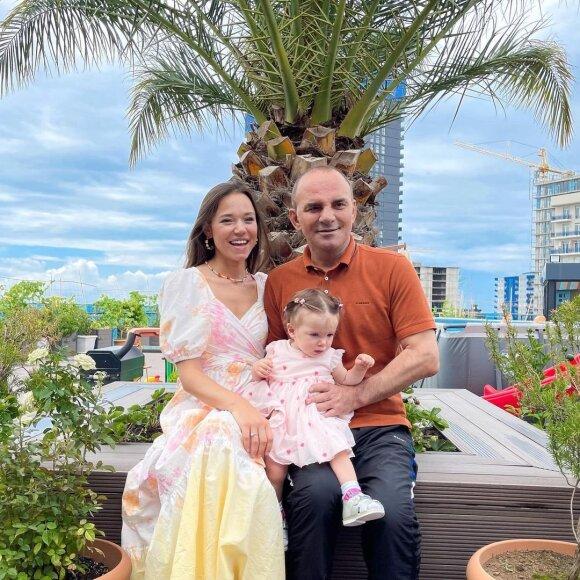 Kristinos Ozturk šeima